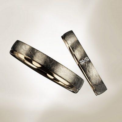 海外ブランドのオシャレで可愛い結婚指輪ユーロウエディングバンド