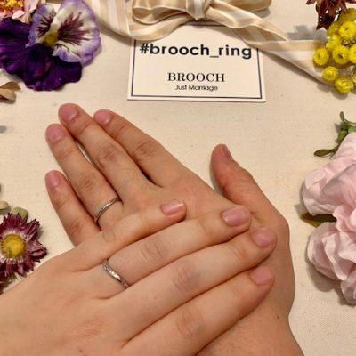 ノクル nocur 結婚指輪 婚約指輪 マリッジリング エンゲージリング シンプル 細身 かわいい キレイ ダイヤモンド