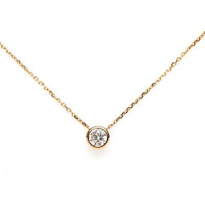 ANTWERP BRILLIANTのネックレスアルテミスシンプルで着けやすい婚約ネックレスや記念日にオススメ
