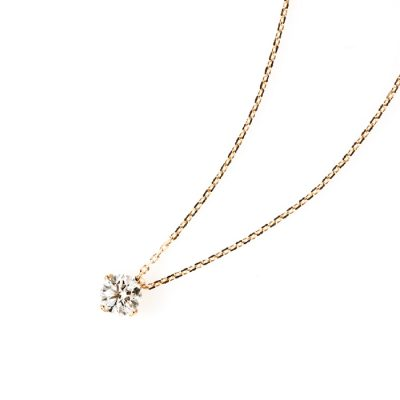 ANTWERP BRILLIANTのネックレスシリウスシンプルで着けやすい婚約ネックレスや記念日にオススメ