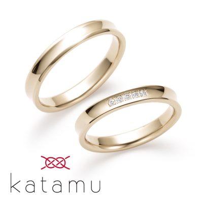 和風な結婚指輪を探すならkatamuのオシャレで美しい結婚指輪