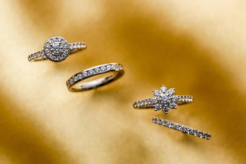 新潟結婚指輪婚約指輪ダイヤモンドアントワープブリリアントきれいなダイヤモンド