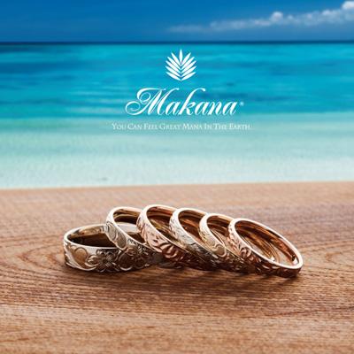 新潟でハワイアンジュエリーの結婚指輪を選ぶならマカナ