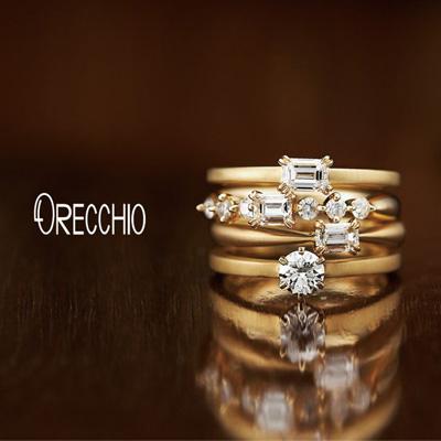 新潟の結婚指輪・婚約指輪取扱ブランドオレッキオ