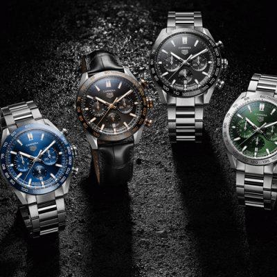 新潟で人気の高級腕時計はタグホイヤーのカレラ02