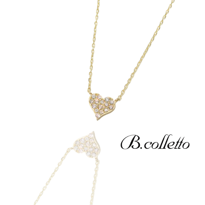 PAVE HEART NECKLACE(パヴェハートネックレス)