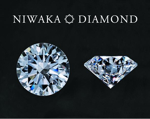 新潟で人気の結婚指輪と婚約指輪 BROOCH 俄(にわか) | NIWAKAダイヤモンド、日本の美意識で作られる輝き