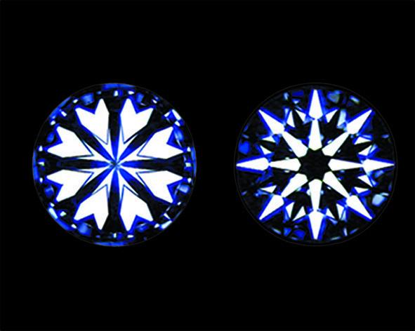 にわかダイヤモンド、トリプルエクセレントハートアンドキューピットと和の白銀比について