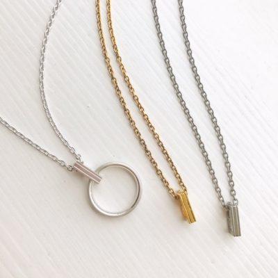 指輪をネックレスにするにはリングコネクターチェーンがオススメ