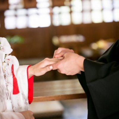 新潟で和装、神前式結婚をするなら、和がかわいい、にわかの婚約指輪(エンゲージリング)結婚指輪(マリッジリング)を選ぼう