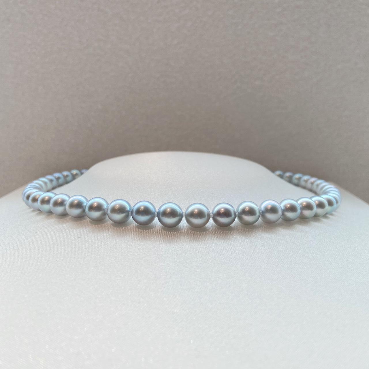 真珠 グレーパール7.5-8.0㎜