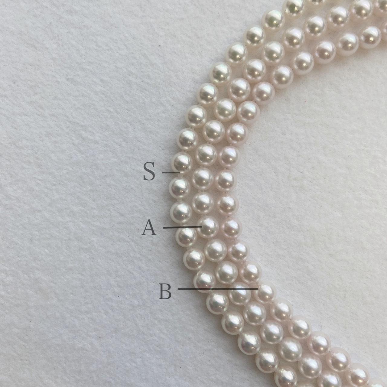 ブランドコンセプトパール(真珠)ネックレス
