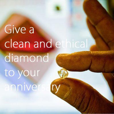 クリーンでエシカルなダイヤモンドを記念日に贈ろう