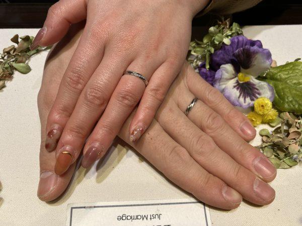 新潟でラインが特徴的な結婚指輪はbridgeの永遠の絆