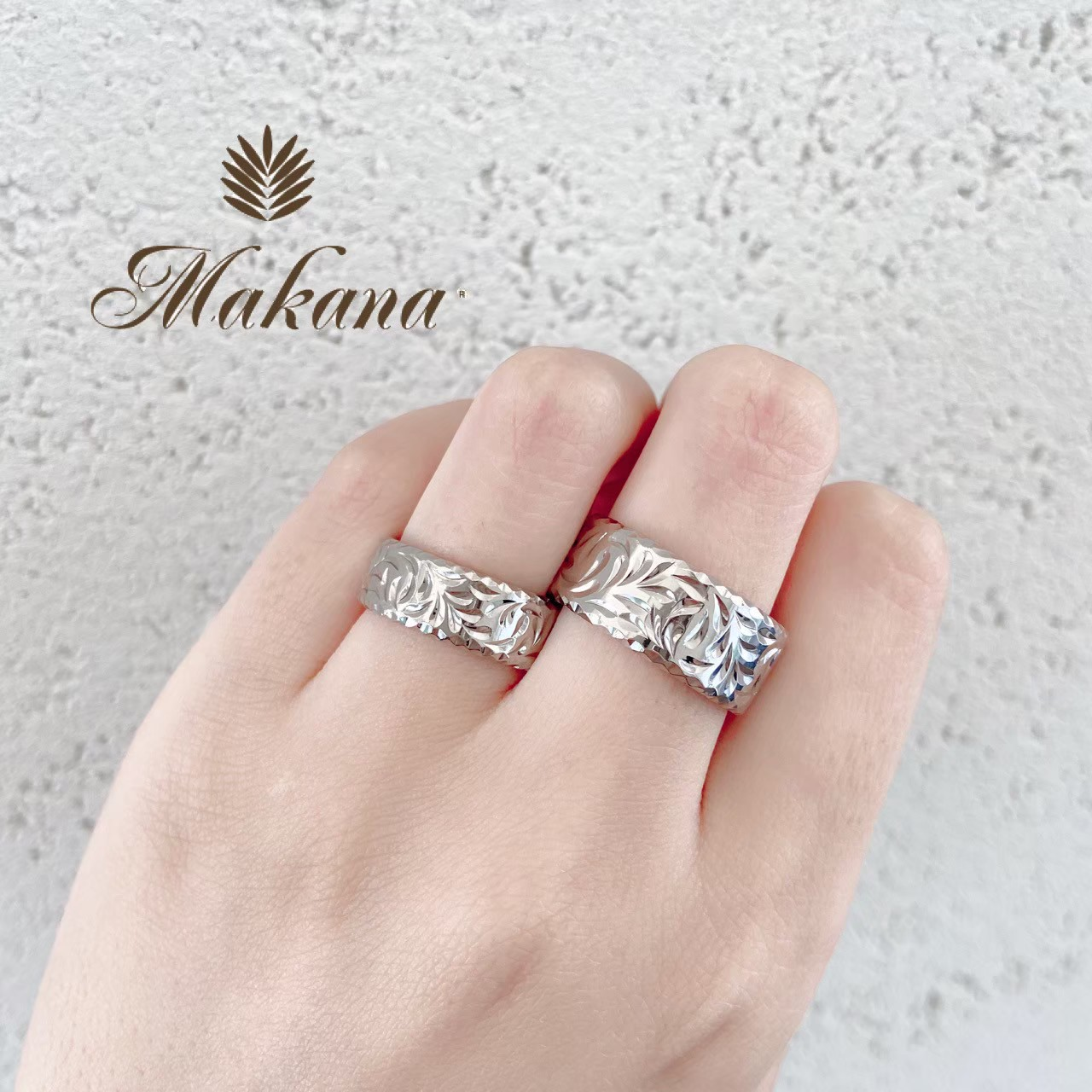 新潟で人気の結婚指輪と婚約指輪 BROOCH Makana(マカナ)| 新潟でかっこいいハワイアンジュエリーのマリッジリングを探すならマカナ