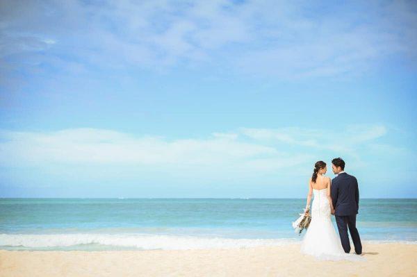 ハワイアンジュエリーの結婚指輪はブローチ