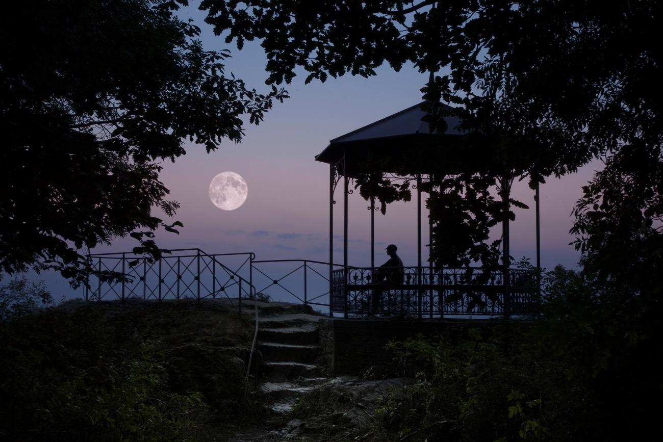 新潟で人気の結婚指輪と婚約指輪 BROOCH にわか(ニワカ)| NIWAKAが描く美しい月のダイヤモンドエンゲージリング【月彩(つきさい)】をクロースアップ