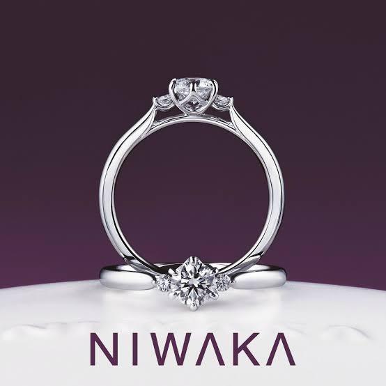 新潟で人気の結婚指輪と婚約指輪 BROOCH 俄(にわか) | 日本の情景やおふたりを祝福するストーリーが込められたNIWAKA(にわか)の婚約指輪