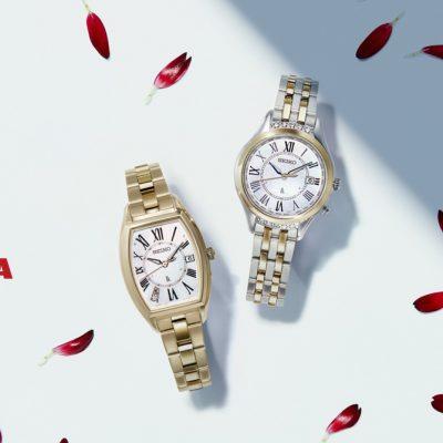 人気なセイコールキアの腕時計はブローチ