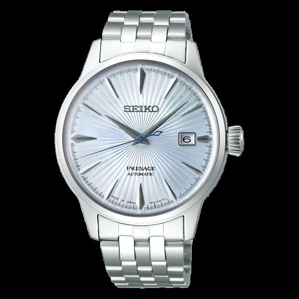 ビジネスシーンに人気のシンプルなセイコーの自動巻き時計