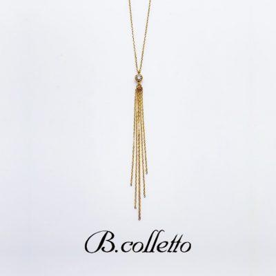 ゴールドが華やかなダイヤモンドネックレスはブローチ取り扱いブランドがかわいい