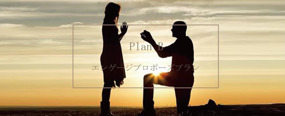 【Plan B】エンゲージプロポーズプラン