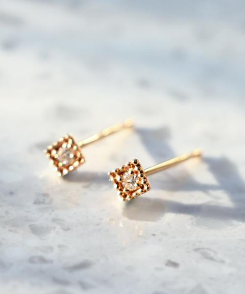 ジュピターの小ぶりダイヤピアスがかわいい!おしゃれなピアスを探すならジュピタープレゼントにもオススメ