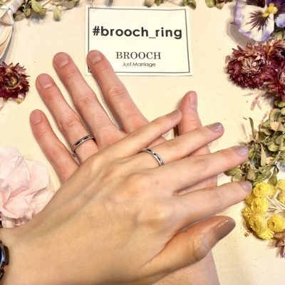 シンプルで個性的な海外ブランドフラージャコーの結婚指輪を探すならBROOCH(ブローチ)