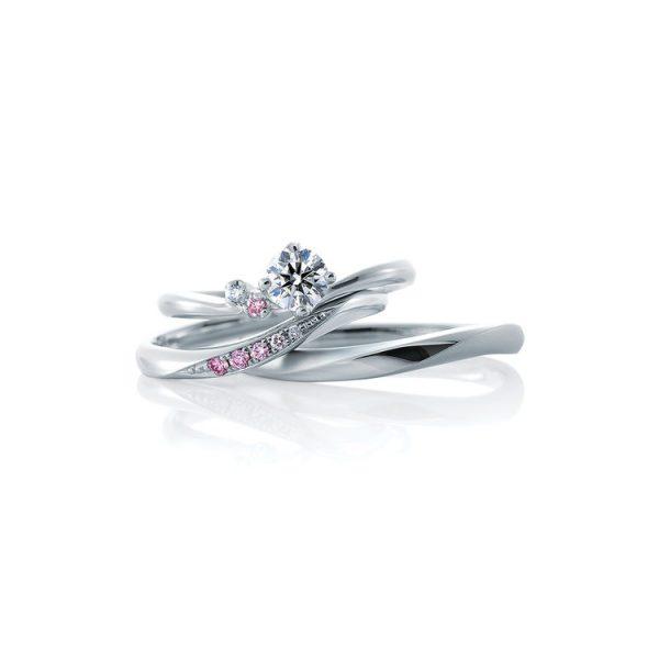 ピンクダイヤモンドが可愛い新潟で結婚指輪(マリッジリング)婚約指輪(エンゲージリング)を探すのならBROOCH(ブローチ)へ