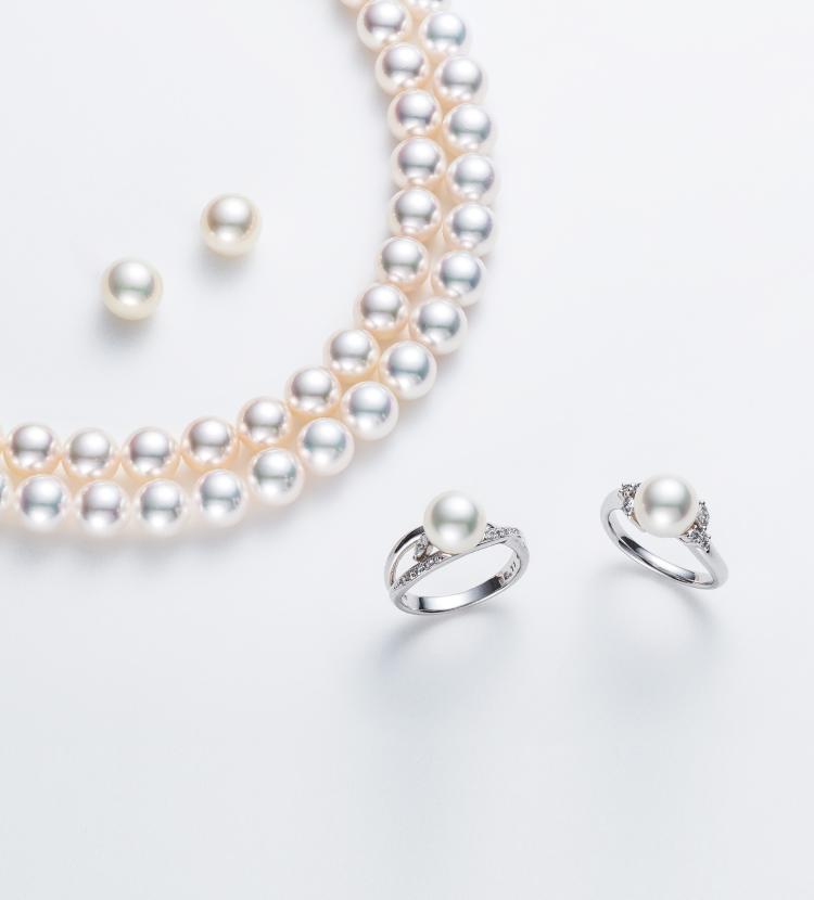 新潟の結婚指輪・婚約指輪 - 晴れの日を心から祝う、無調色本真珠は大切な方へのおもてなし