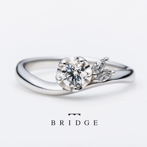 新潟でプロポーズするのにぴったりな婚約指輪(エンゲージリング)冬イメージ