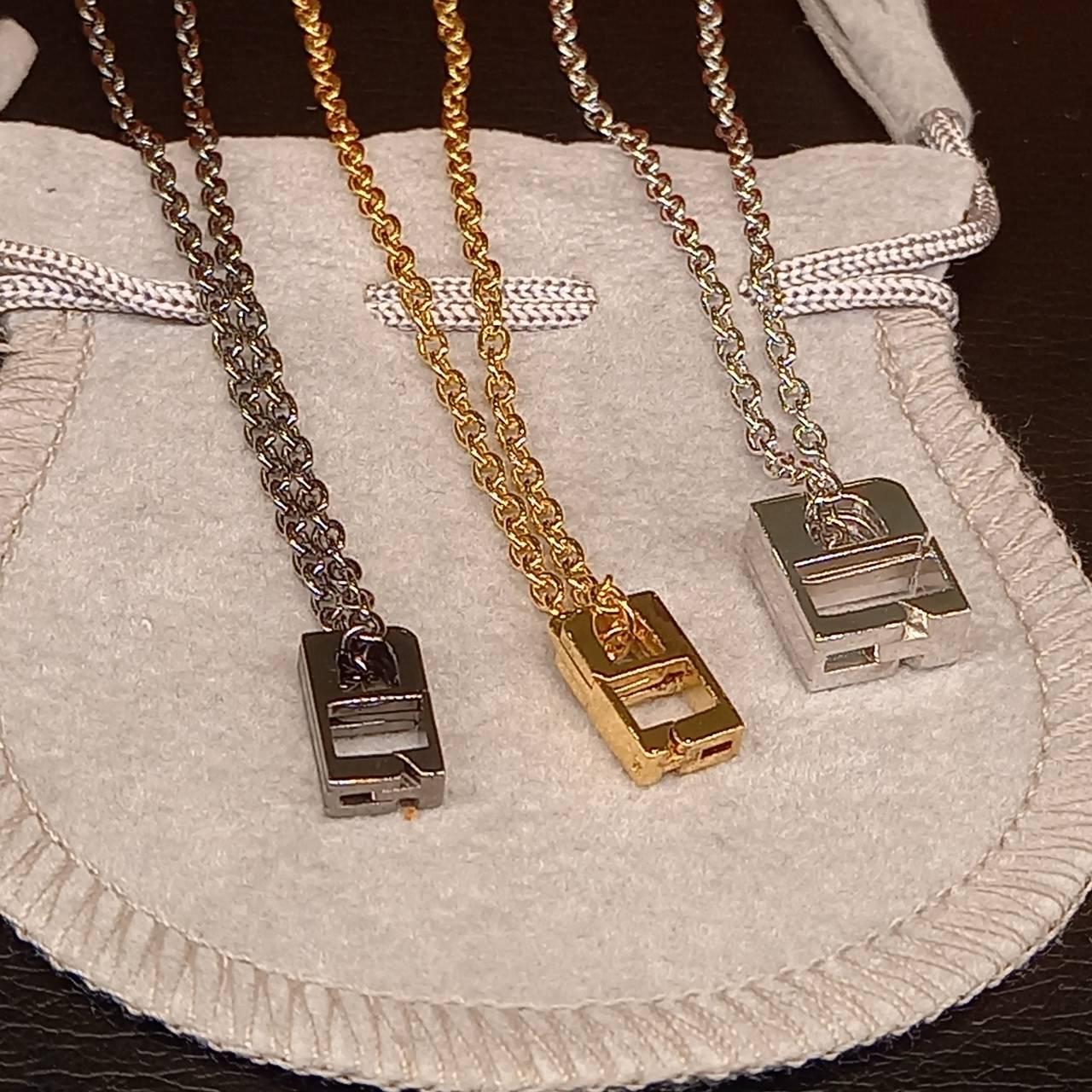 新潟の結婚指輪・婚約指輪 - 婚約指輪や結婚指輪をネックレスにできるリングコネクタ付きチェーンにLサイズ登場!