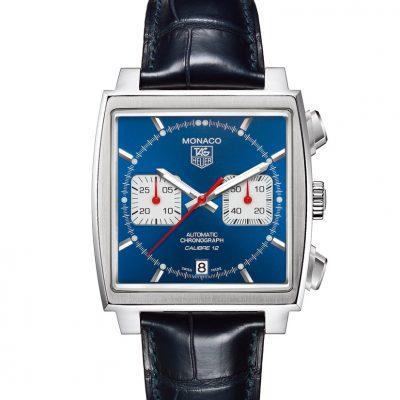 TAGHeuerタグ・ホイヤー MONACOモナコ 世界初角型クロノグラフ 腕時計
