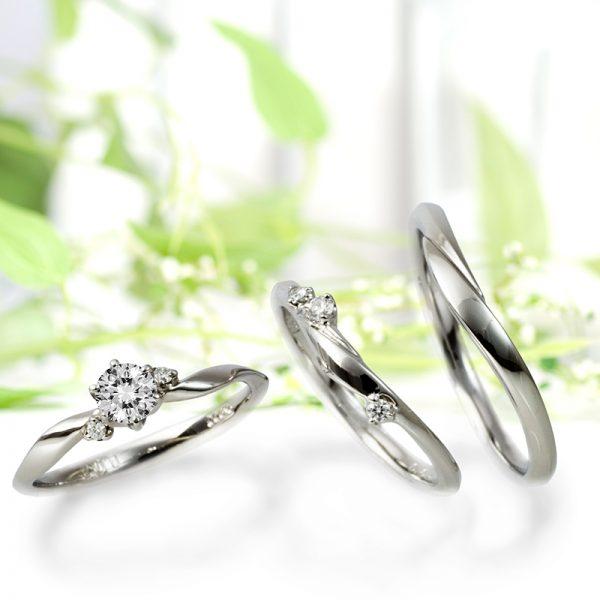 新潟でLAPAGEFleurs(ラパージュフルール)の結婚指輪(マリッジリング)を探すならBROOCH(ブローチ)へ