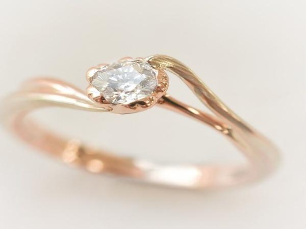一目ぼれで決めた結婚指輪は世界でひとつだけの杢目金屋
