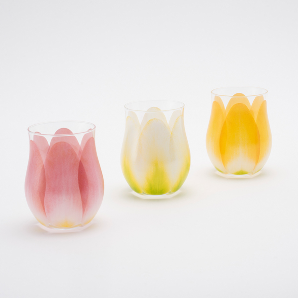 新潟の結婚指輪・婚約指輪 - 結婚祝いの内祝いに大人気のチューリップグラス!