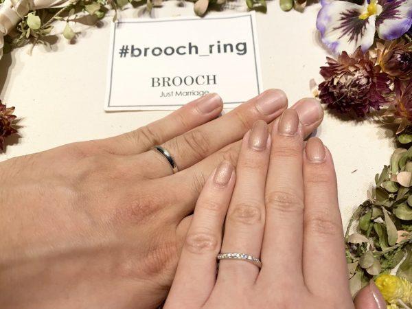 星がお好きなおふたりが選んだ婚約指輪と結婚指輪は「Vega」