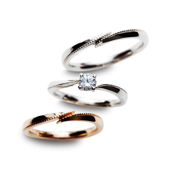 アンティーク調の結婚指輪ならBROOCH(ブローチ)へ