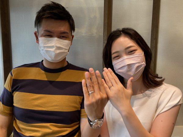 新潟のY.S様&R.S様は着け心地が良くカッコイイドイツブランドの結婚指輪(マリッジリング)