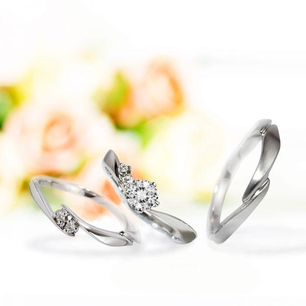新潟で可愛らしい結婚指輪(マリッジリング)を探すならBROOCH(ブローチ)へ