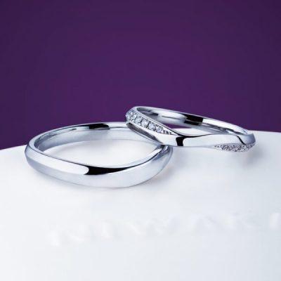 新潟で俄の結婚指輪探すならBROOCH