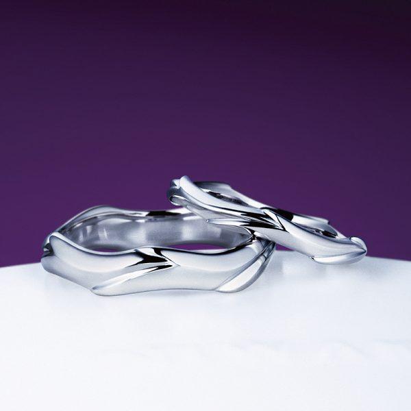 俄にわかの結婚指輪くじら