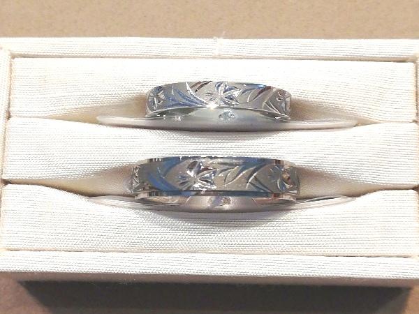 夏の新潟で入籍されるおふたりが選んだ結婚指輪NIWAKA【俄】