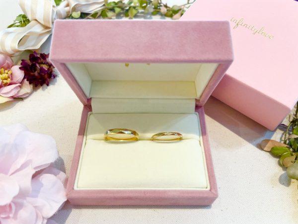 シンプルでオシャレな結婚指輪はinfinitylove