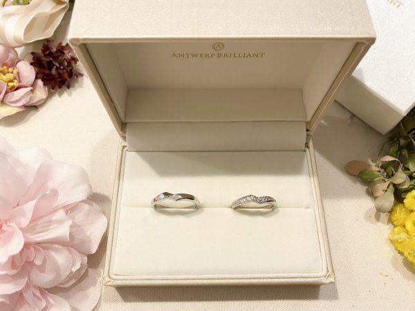 結婚指輪の名前がかっこいいのにも惹かれた「ライトニング」