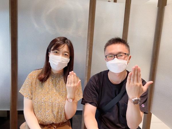 和風結婚指輪のにわか初桜を結婚指輪に!